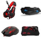 Rampage Tkz R0110 Klavye Mouse Kulaklık Gaming...