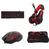 Rampage Tkz R5510 Klavye Mouse Kulaklık Gaming...