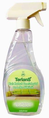 TERLANS 3lü Ev Temizlik Seti - Koltuk Halı Banyo ve Cam Temizleyici - Mikrofiber Bez Hediyeli-5