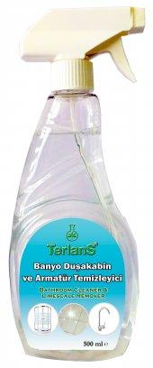 TERLANS 3lü Ev Temizlik Seti - Koltuk Halı Banyo ve Cam Temizleyici - Mikrofiber Bez Hediyeli-7