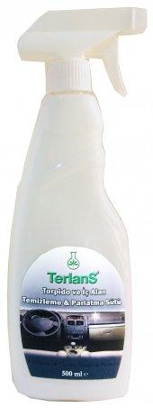 Terlans Parfümlü Torpido Parlatıcı (Parlatma Sütü) 500 Ml + Mikrofiber Bez