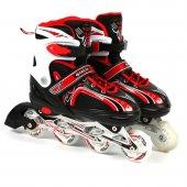 Delta İnline Skate Alüminyum Paten + Koruyucu Set Grd 16