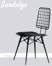 Ev Şehri Rio Masa Tel Sandalye Ücretsiz Kargo-3
