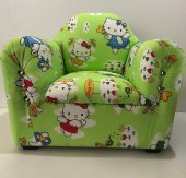 Hello Kitty Yeşil Çocuk Koltuğu-Bebek Koltuğu