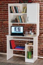 Ev Şehri Kitaplıklı Çalışma Masası Ev 642...