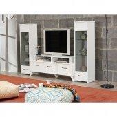 Beyaz Tv Ünitesi & Tv Sehpası Ev 441451