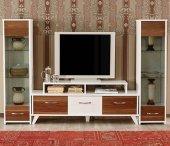 Ev Şehri Ceviz Tv Ünitesi & Tv Sehpası Ev 441454