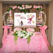Düğün Masa Arkası Afiş