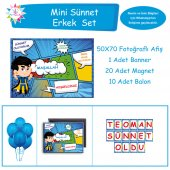 Sünnet Çocuk Süsleme ve Hediyelik Mini Set
