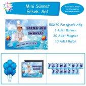 Sünnet Balonlu Kuşaklı Mini Set