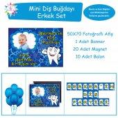 Diş Buğdayı Mavi Güçlü Diş Mini Set