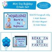 Diş Buğdayı Mavi Taçlı Mini Set