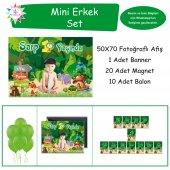 Ormanlı Safari Konsepti Mini Set