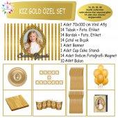 Gold Vintage Konsept Özel Set Parti Çocuk