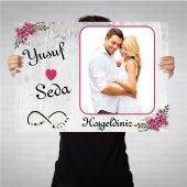 Nişan Düğün Afişi Nişan Arka Fon Kişiye Özel Model Seçimi