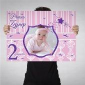 Kız Çocuğu Doğum Günü Mor Prenses 10 Farklı Model...