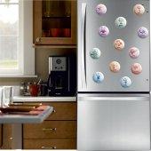 Açacaklı Buzdolabı Magneti Burç Modelleri 10 adet-3