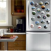 Açacaklı Buzdolabı Magneti Çanakkale Modelleri 10 adet-3