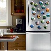 Açacaklı Buzdolabı Magneti Manzara Modelleri 10 adet-3