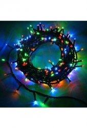 10 Metre 100 Led Yılbaşı Süslemesi Led Işık Karışık Renkli