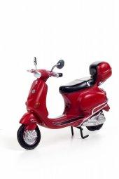 Decotown Scooter Kırmızı Motosiklet-2