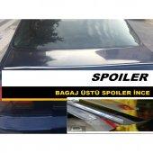 Volkswagen Bora Sedan Kromlu Siyah Bagaj Spoyleri Bagaj Çıtası