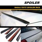 Mazda 3 Sedan Siyah Bagaj Üstü Spoyleri Bagaj Çıtası