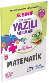 Murat Yayınları 5. Sınıf Matematik Öğretmenimin...