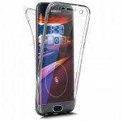 Samsung Galaxy J8 360 Ön Arka Silikon Kılıf