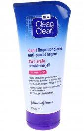 Clean Clear 3 Ü 1 Arada Temizleme Jeli 150 Ml Siyah Nokta