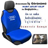 Her Markaya Özel Ön Arka Koltuk Atlet Kılıf 4...