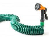 15 Metre Spiral Hortum + 4 Fonksiyonlu Özel Sulama Tabancası