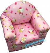 Ahşap Çocuk Koltuğu Hello Kitty Desenli Ahşap...
