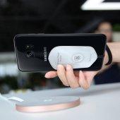 Kablosuz Şarj Alıcısı Microfiber Pad Android +iphone Uygun Baseus