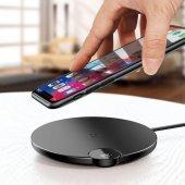 Baseus Wireless Şarj Dijital Led Göstergeli Kablosuz Şarj Cihazı