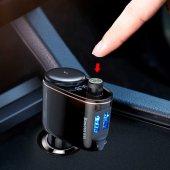 Baseus Bluetooth Mp3 Araç Şarj Cihazı