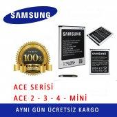 Samsung Galaxy Ace Serisi Orjinal Batarya Tüm Modeller