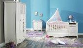 Beşik, Uzun Beşik, Lilyum Bebek Odası ( 70*140 ) Sabit Uzun Beşik-2
