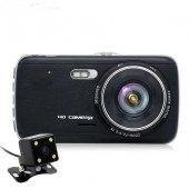 Kingboss Hd Araç Kamerası 1080p 170 Görüş Açısı Çift Kamera Park Kamerası