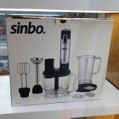 Sinbo Multi Blender Seti 1000 Watt Turbolu Çelik Bıçaklı SHB 3114-2
