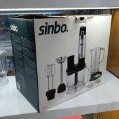 Sinbo Multi Blender Seti 1000 Watt Turbolu Çelik Bıçaklı SHB 3114-3