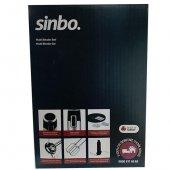 Sinbo Multi Blender Seti 1000 Watt Turbolu Çelik Bıçaklı SHB 3114-4