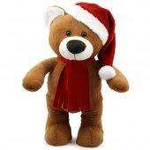 Yılbaşı Özel Noel Ayı 55 Cm Kahverengi