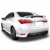 Toyota Corolla 2015 Snr Arka Tampon Difüzörü Tampon Çıta 3 Parça