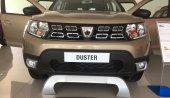 Dacia Duster 2018 Yeni Kasa Plaka Üstü Ön Tampon Koruması