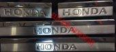 Honda Civic 2016 Ve Sonrası Paslanmaz Krom Kapı Eşiği 4 Parça