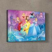 Prensesler 2 30x40 Cm Kanvas Tablo