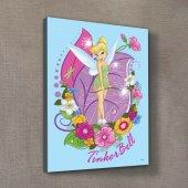 Tinkerbell 50x70 Cm Kanvas Tablo