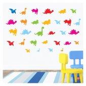 Dinozorlar 148x88 cm Duvar Sticker