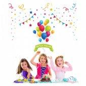 Doğum Günü Partisi 1 151x112 Cm Duvar Sticker